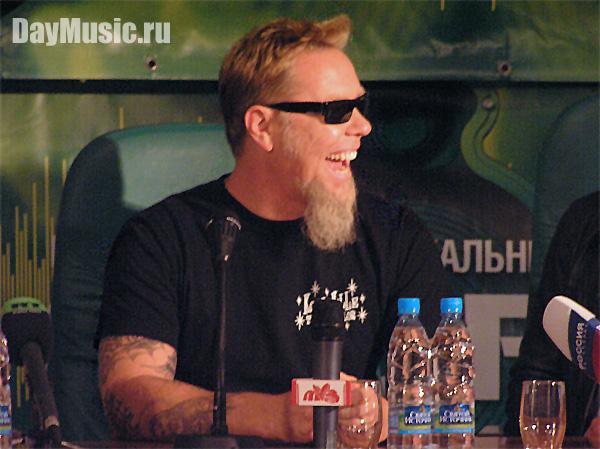 Концерт Metallica вСКК «Петербургский»