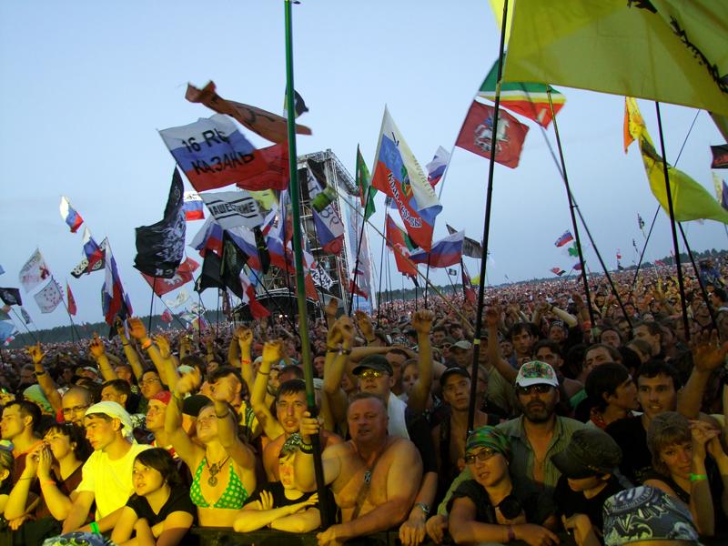 «НАШЕСТВИЕ-2010» пройдет виюле вБольшом Завидово
