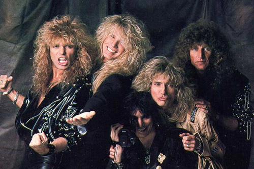 Вобъятья Whitesnake попадают победители нашего конкурса