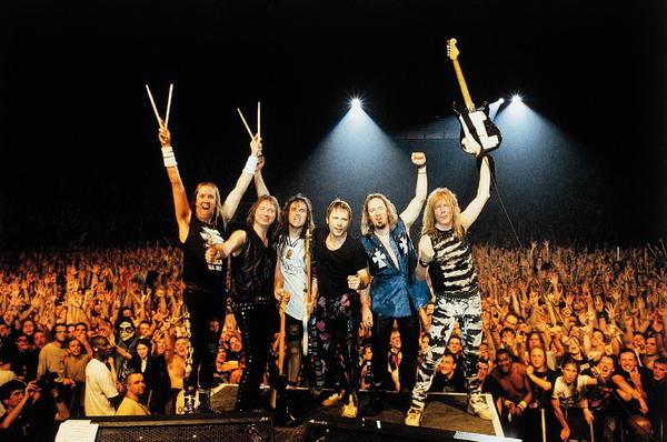 Iron Maiden выпускают живой альбом иDVD