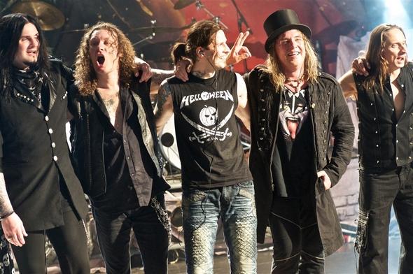 Helloween презентовали вМоскве новый альбом при поддержке Gamma Ray