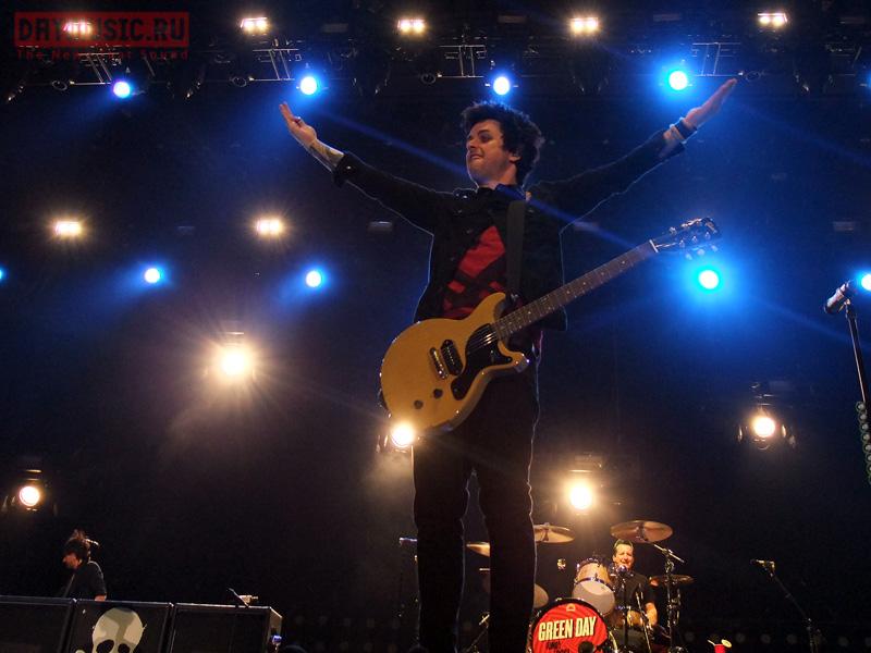 Green Day впервые выступили вРоссии (фото)