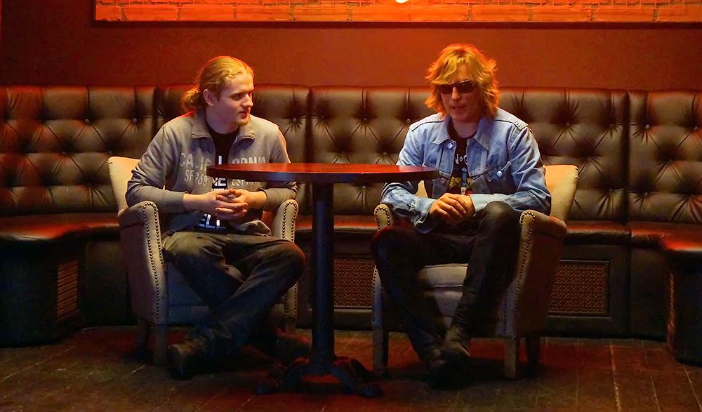 Гитарист первого российского трибьюта Red Hot Chili Peppers встретился свокалистом мирового трибьюта— Bon Giovi