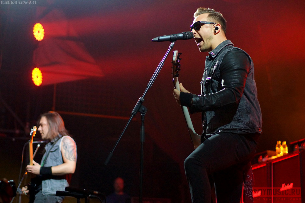 Bullet For MyValentine продемонстрировали мощь современного метала насцене Arena Moscow