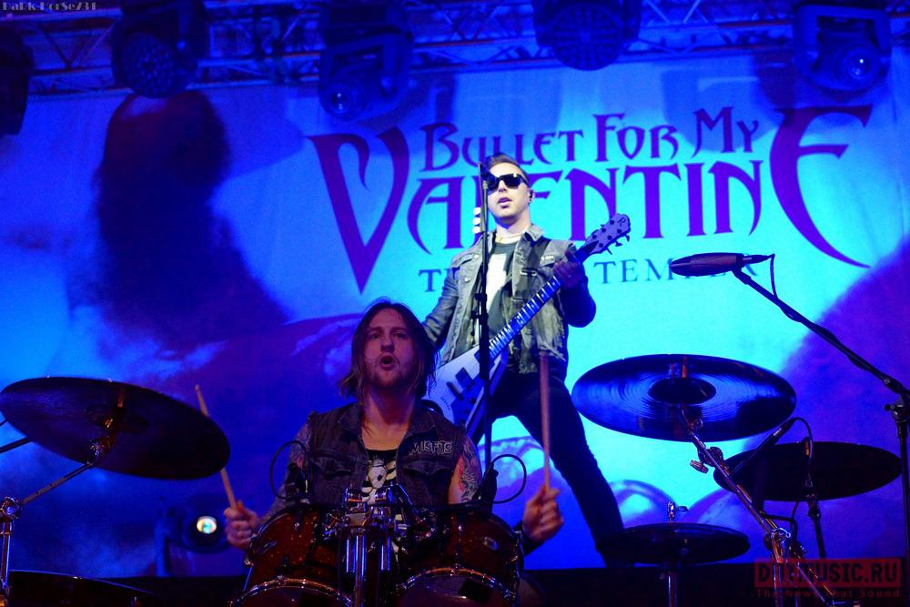 Bullet For MyValentine выступили вМоскве (фото)