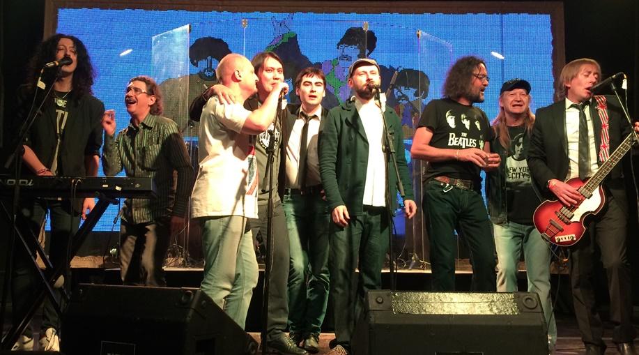 Наежегодном Beatles-фесте вМоскве спелись рокеры извезды советской эстрады