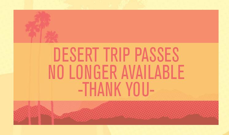 Билеты нафестиваль «Desert Trip» были распроданы затри часа