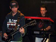Концерт групп «Провода» и«Znaki» вклубе тень (фотоотчет)