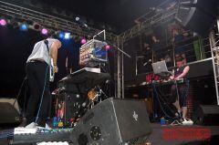 Ватмосфере ритма изавораживающего звучания сфранцузской группой M83 прошел вечер в«Икре»