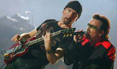 Группа U2подвинула «Ювентус»