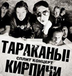 Премьера нового сплит-релиза групп Тараканы! иКирпичи пройдет вМоскве