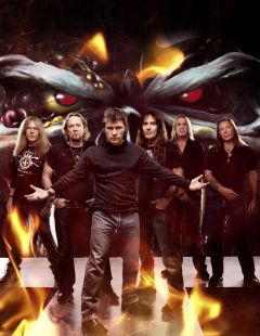 Iron Maiden покажут Москве шоу «The Final Frontier»
