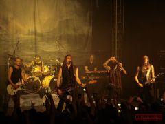 Финская группа Amorphis выступила вМоскве