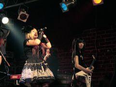 Японская команда Blood Stain Child впервые выступила встолице вминувшие выходные