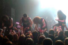 Moonspell выступили вМоскве сдолгожданным концертом