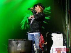 Guns N' Roses выступили вМоскве вовторой раз (фото)