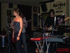Coockoo выступили вмосковском Hard Rock Café
