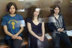 Участницам Pussy Riot дали подва года колонии общего режима