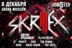 Skrillex выступит вМоскве нафестивале «Dubstep Planet3»
