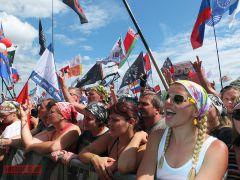 Очередное «Нашествие» Большом Завидово собрало более полутора сотен тысяч человек