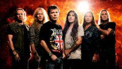 Iron Maiden презентуют вМоскве новый альбом