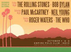 Пол Маккартни, Нил Янг, Боб Дилан, Роджер Уотерс, Rolling Stones иWho выступят нафестивале «Desert Trip»
