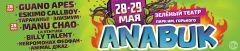 Guano Apes иManu Chao будут хедлайнерами второго международного фестиваля Anabuk