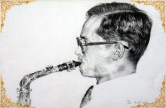 Король Таиланда— музыкант. Соло РамыIX