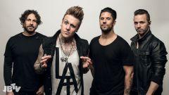 Papa Roach презентуют вРоссии новый альбом
